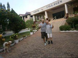 David and me